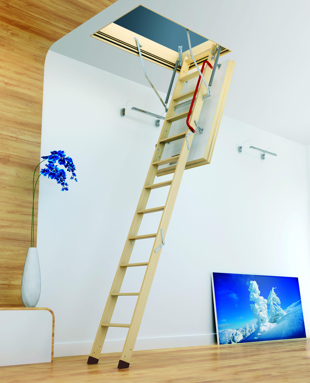 Sklápacie schody FAKRO